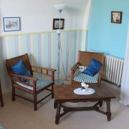 Espace salon - Location de vacances - Paimpol
