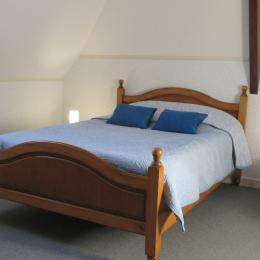 la chambre indépendante avec lit de 140 - Location de vacances - Paimpol