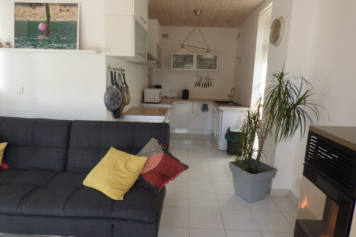 La pièce de vie avec espace salon et salle à manger - Location de vacances - Plouha