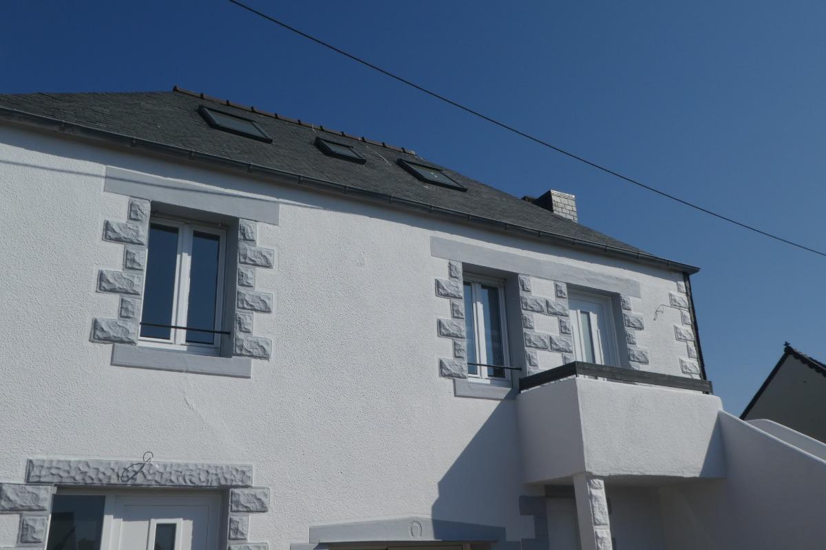 Gîte situé à l'étage - Location de vacances - Trélévern