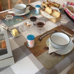 Maison d'Avril, chambre d'hôtes,  Exemple de petit déjeuner - Chambre d'hôtes - Plouézec