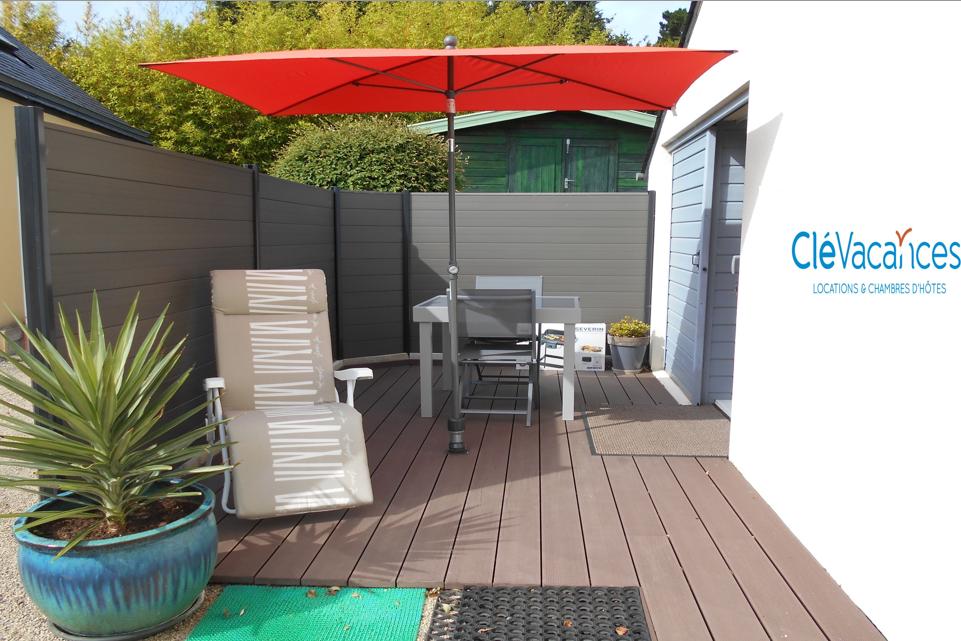 espace extérieur - Location de vacances - Lannion