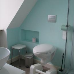 Hauvet-Popoudrenko, Suite chambres d'hôtes Batzt - Clévacacances, 2ème étage, salle d'eau avec WC - Chambre d'hôtes - Paimpol