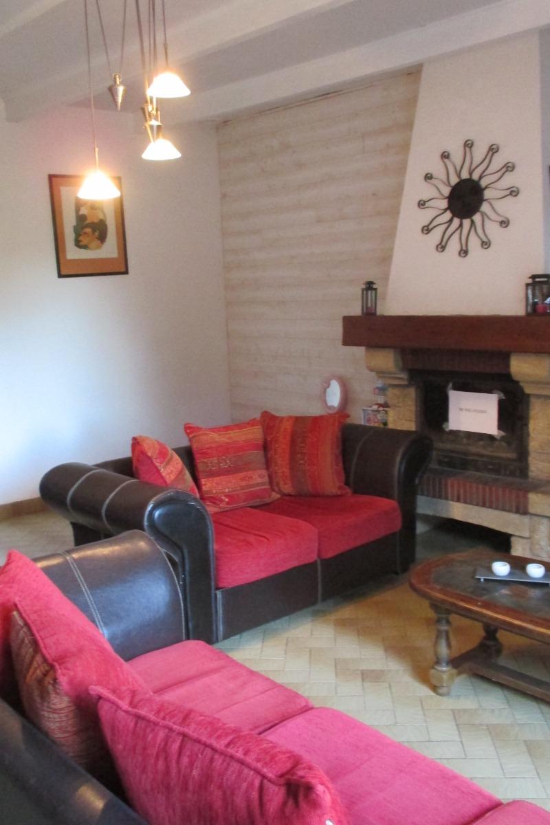 Gîte Al Lenevez, Gaspar, Bringolo, salon - Location de vacances - Bringolo