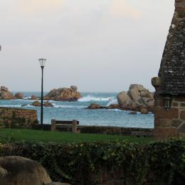 Vue du jardin - Location de vacances - Perros-Guirec