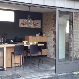 Location Clévacances Paimpol, Guézou, salon - Location de vacances - Paimpol
