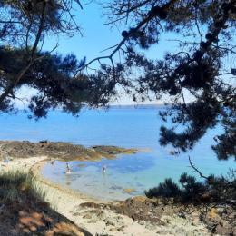 2ème partie cuisine ( espace évier et machine à laver la vaisselle ) - Location de vacances - Paimpol