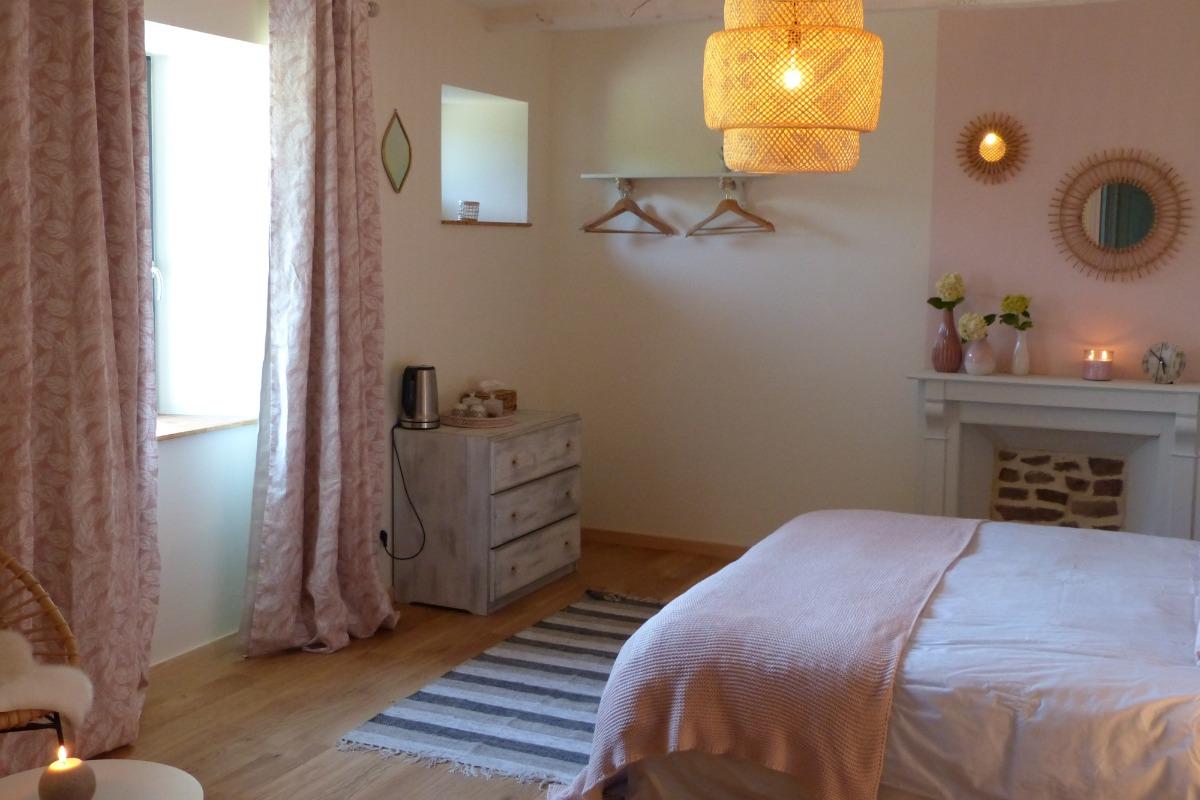 MEYER, chambre d'hôtes, Ploëzal, Bretagne, la chambre  - Chambre d'hôtes - Ploëzal