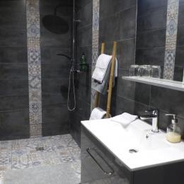 MEYER, chambre d'hôtes, Ploëzal, Bretagne, la salle d'eau  - Chambre d'hôtes - Ploëzal