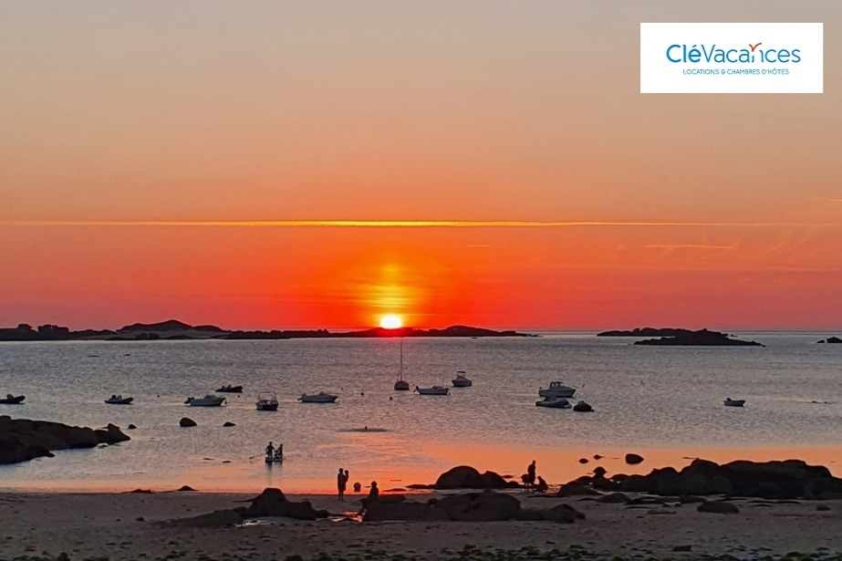 coucher de soleil trébeurden - Location de vacances - Trébeurden