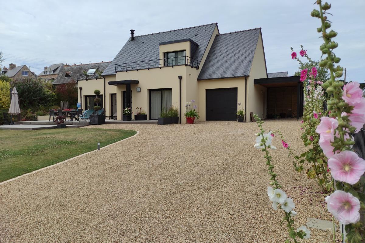 La maison avec son carport - Location de vacances - Penvénan
