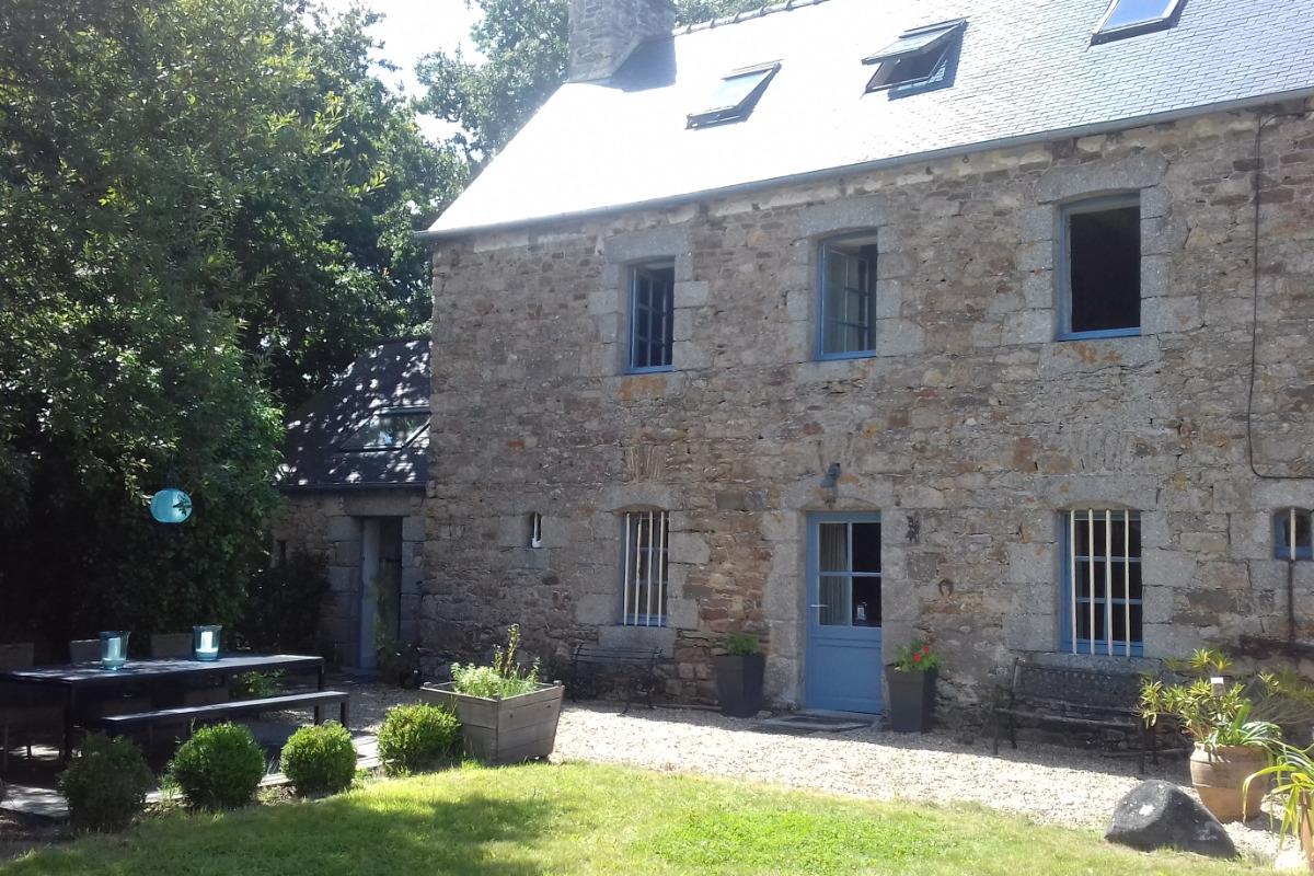 Chambre d'hôtes, Plouëc du Trieux, Clévacances, vue extérieure - Chambre d'hôtes - Plouëc-du-Trieux