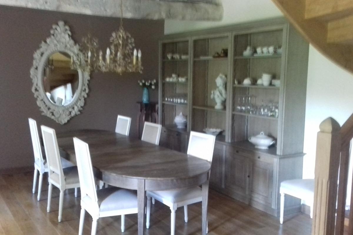 Chambre d'hôtes, Plouëc du Trieux, Clévacances, espace petit déjeuner - Chambre d'hôtes - Plouëc-du-Trieux