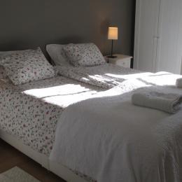 Chambre d'hôtes, Plouëc du Trieux, Clévacances, chambre avec lit 160 - Chambre d'hôtes - Plouëc-du-Trieux