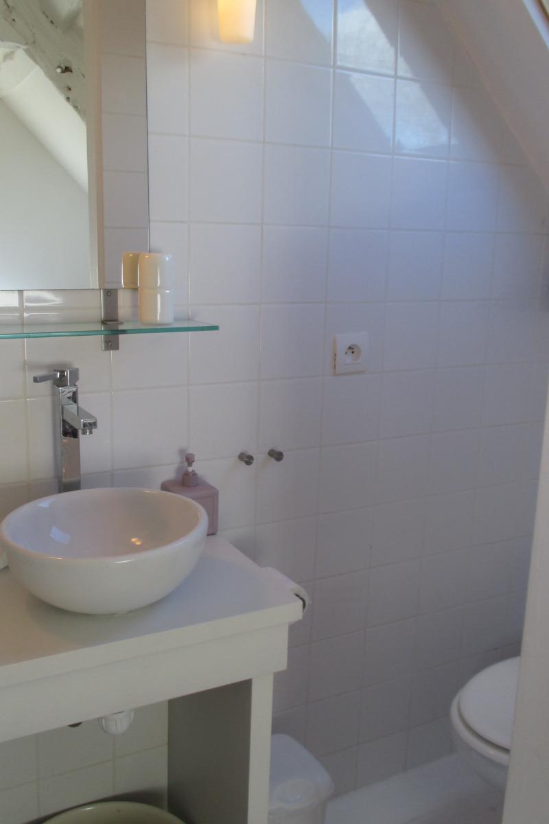 Chambre d'hôtes, Plouëc du Trieux, Clévacances, salle d'eau -WC avec douche - Chambre d'hôtes - Plouëc-du-Trieux