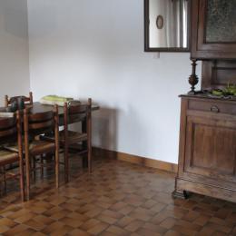 Clévacances, location Quemper-Guezennec, Le Cain, séjour - Location de vacances - Quemper-Guézennec