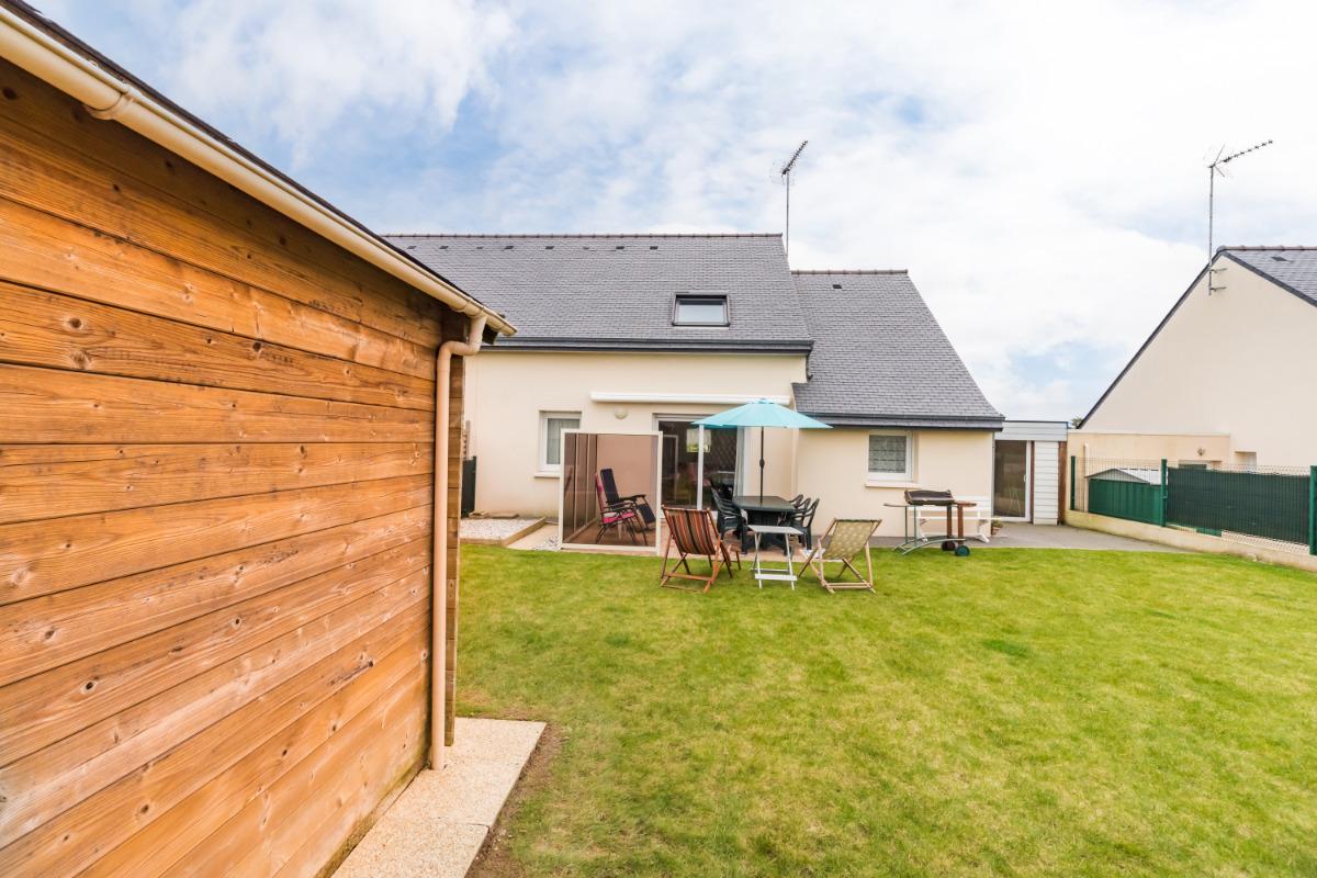 espace salon-télé - Location de vacances - Penvénan