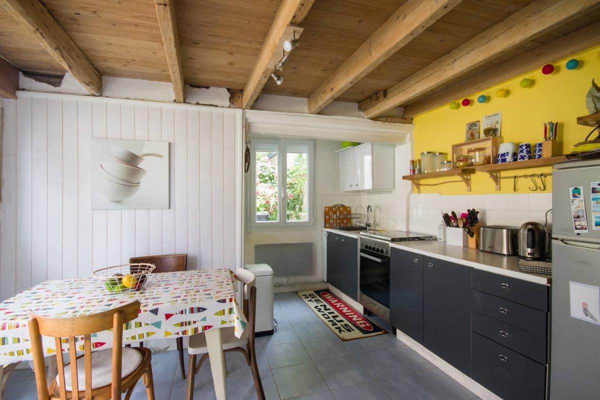MaisonSaintQuay cuisine équipée et fonctionnelle - Location de vacances - Saint-Quay-Portrieux