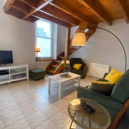 ALLIOT,  location de vacances Paimpol, Cruckin, table espace salle à manger  - Location de vacances - Paimpol