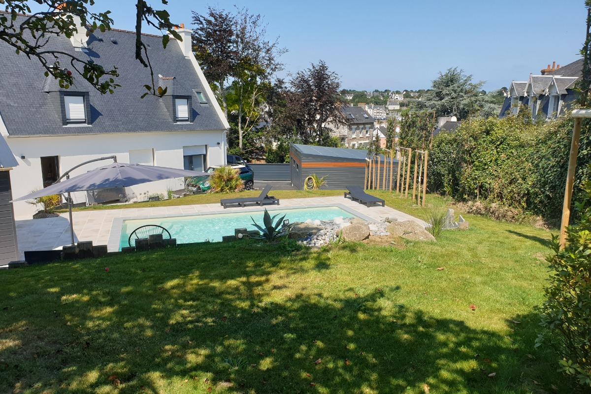 Vue globale maison - Location de vacances - Binic-Étables-sur-Mer
