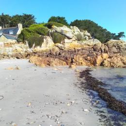 Accès direct à la plage - Location de vacances - Plougrescant