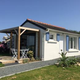Vue mer de la terrasse - Location de vacances - Trédrez-Locquémeau