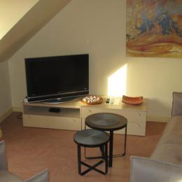 Guinard, location Clévacances, Paimpol, le salon - Location de vacances - Paimpol