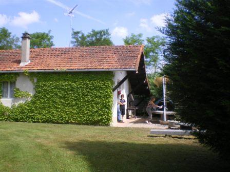 Gîte de pêche proche Boussac en Creuse - Location de vacances - Saint-Silvain-Bas-le-Roc