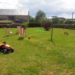 Location de vacances Maison dans hameau calme entre Felletin et Aubusson en Creuse - Location de vacances - Saint-Marc-à-Frongier