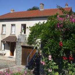 Location de vacances Maison indépendante avec terrasse et jardin, à 20 minutes de Guéret en Creuse - Location de vacances - Sardent