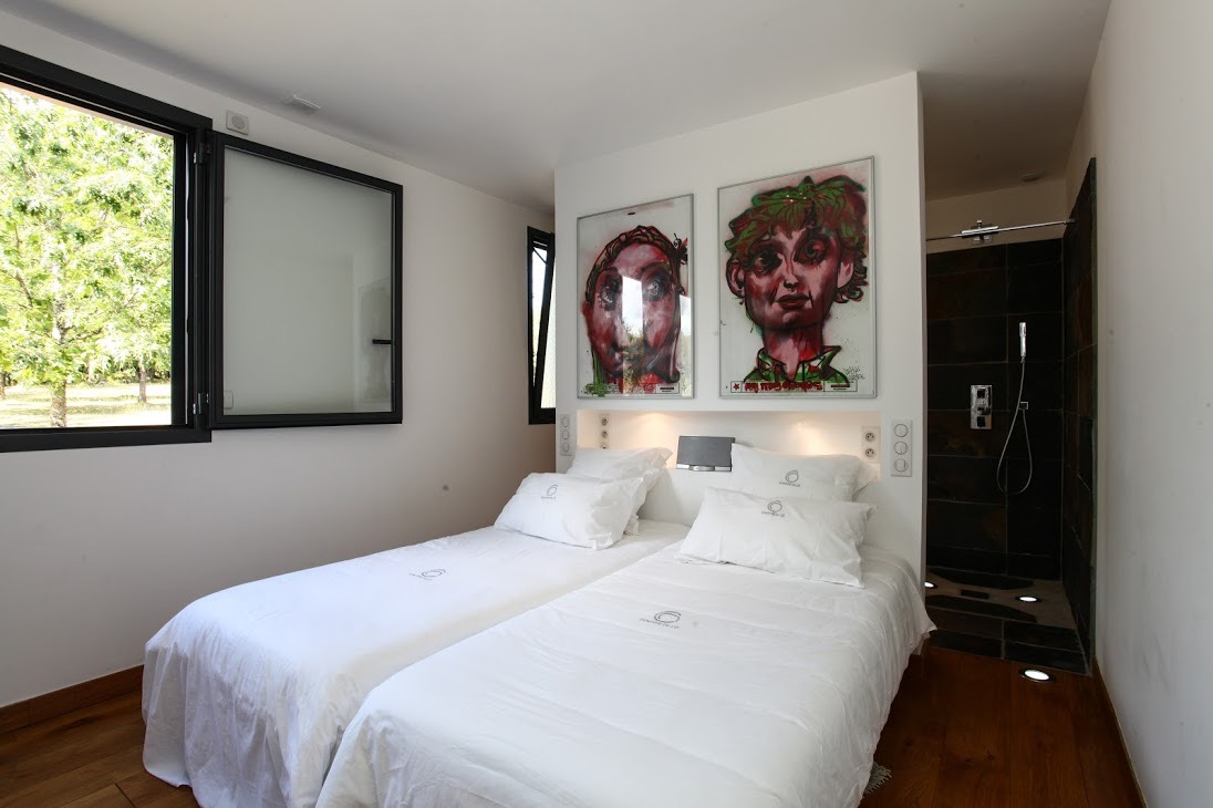 Chambre  - Location de vacances - Saint-Jean-d'Eyraud