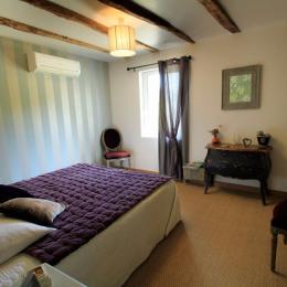 Chambre Les Rêves d'Angèle, salle de douche très claire, très agréable - Chambre d'hôtes - Terrasson