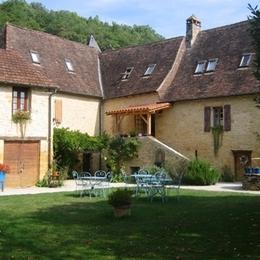 le jardin extérieur - Chambre d'hôtes - Valojoulx