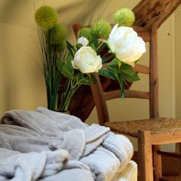 Sous le Tilleul de Noémie, et sa baignoire double - Chambre d'hôtes - Terrasson