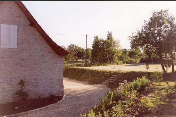 jardin de 800 m2 - Location de vacances - Tourtoirac