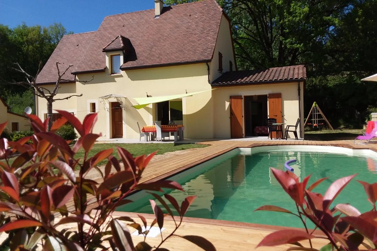 Nouveauté  2017, piscine privative  prête à vous accueillir  - Location de vacances - Carlux