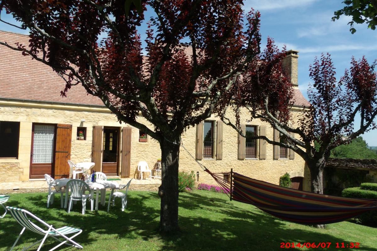 Façade principale sud-ouest - Location de vacances - Sarlat-la-Canéda