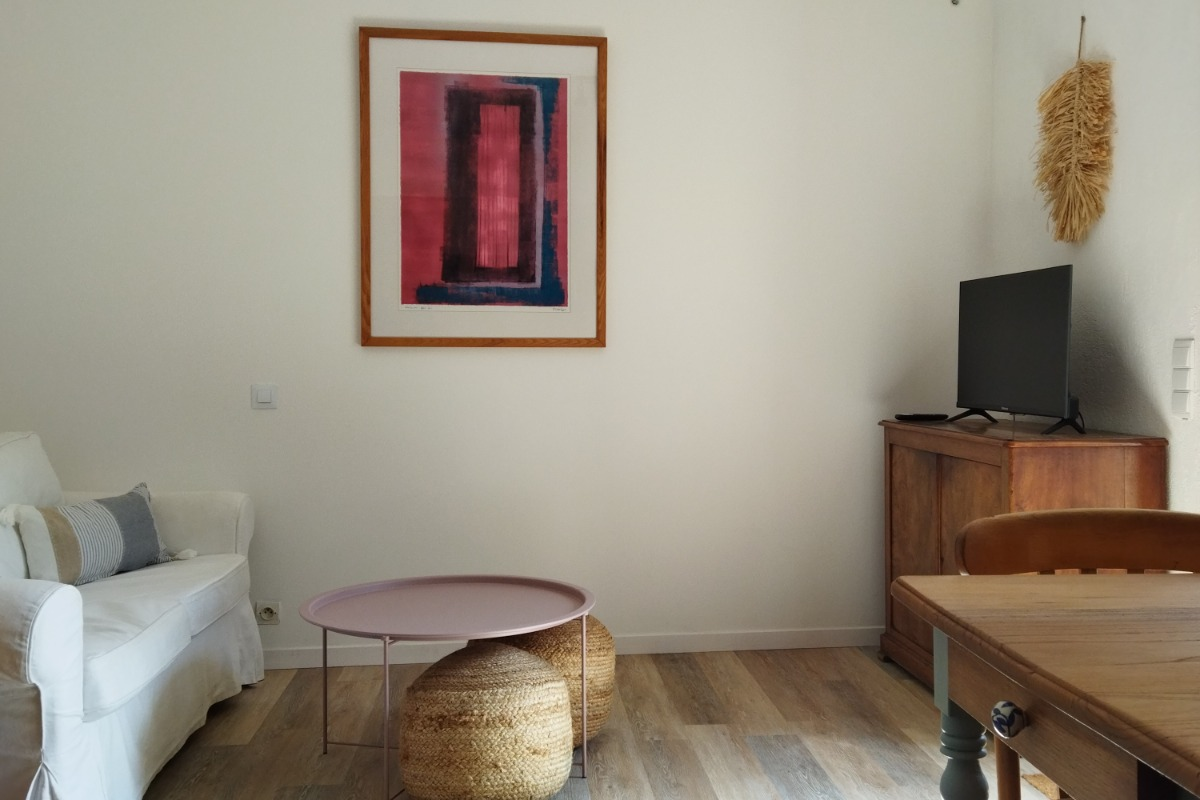 Coin salon - Location de vacances - Sarlat-la-Canéda