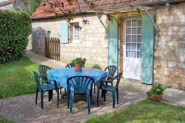 jardin privatif - Location de vacances - Saint-Cyprien