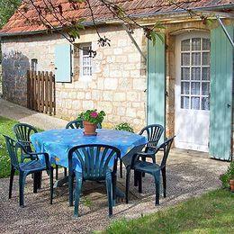 jardin privatif - Location de vacances - Saint-Cyprien Dordogne