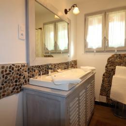 salle d'eau - Location de vacances - La Roque-Gageac