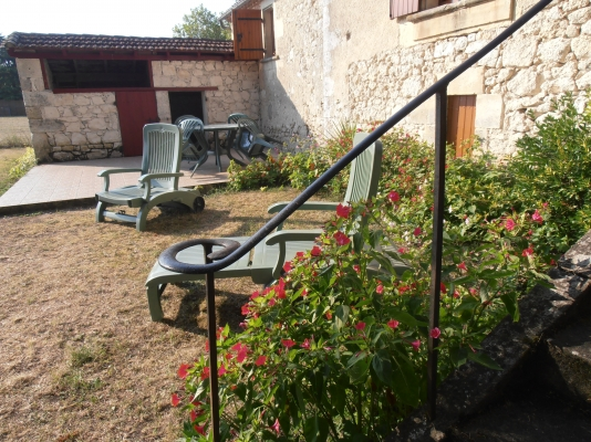 derrière la maison - Location de vacances - Issigeac