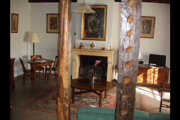 salon - Location de vacances - Saint-Avit-Rivière