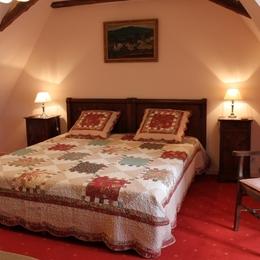 Chambre 1 - Location de vacances - Saint-Avit-Rivière