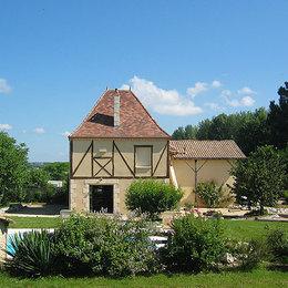 gîte avec piscine et parc privé - Location de vacances - Lamonzie-Saint-Martin