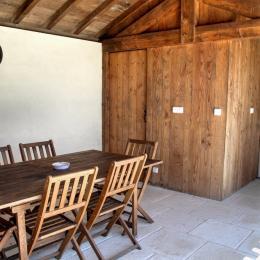 Intérieur Pool House - Location de vacances - Saint-Rémy DORDOGNE