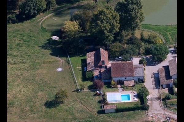 piscine privée - Location de vacances - Lamonzie-Saint-Martin