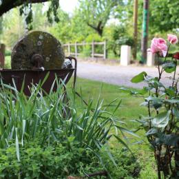 espace repas et coin cuisine équipée - Location de vacances - Lamonzie-Saint-Martin