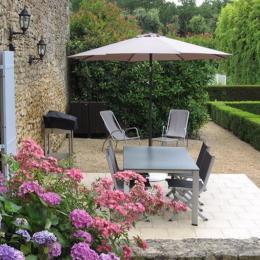 Terrasse du gîte - Location de vacances - Carsac-Aillac