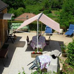 TERRASSE VUE  DE HAUT - Location de vacances - Groléjac